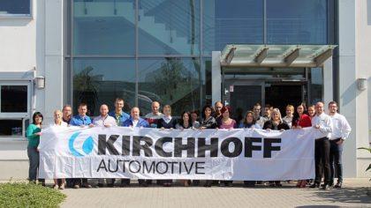 Hárommilliárd forintos kapacitásbővítés az esztergomi Kirchhoffnál