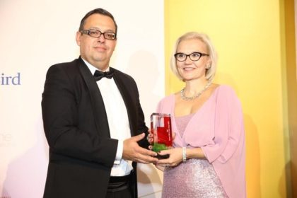 Az ABB Kft. ügyvezetője, Taira-Julia Lammi az év külföldi vállalatvezetője