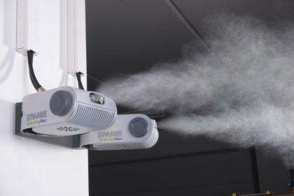 A levegő párásítás megoldja a gyártási problémákat