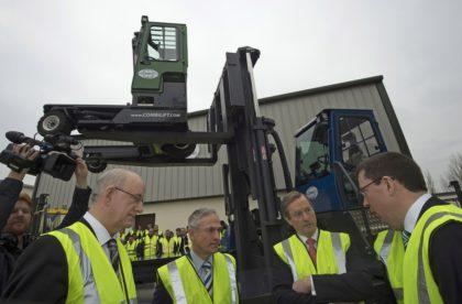 A COMBILIFT bejelenti 40 millió euró értékű beruházását az új gyártóüzemébe
