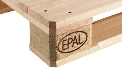 Az EPAL bevezeti a minőségellenőrzött CP raklapokat