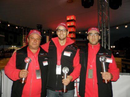 Az idén a magyar csapat 3. helyezést ért el a Nemzetközi Targoncavezetői Versenyen Németországban