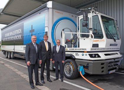 Continental gumiabroncsokon fut a BMW elektromos teherautója