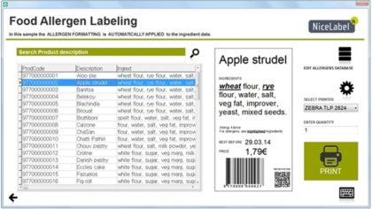 Élelmiszer Allergének Címkézésének Rendelete kihívás elé állítja a gyártókat!