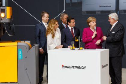 Jungheinrich a Hannover Messe/ CeMAT legnagyobb kiállítója
