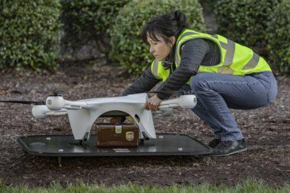 Csomagkézbesítő drónokat alkalmazna a UPS