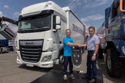 Három új DAF XF járművet szerzett be a Tóth és Torgyik Trans Kft.