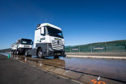 Innovatív tehergépjármű gumiabroncsok a Goodyear-tól