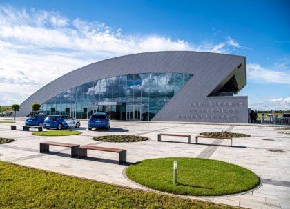 Járműipari tesztpályát avattak Zalaegerszegen