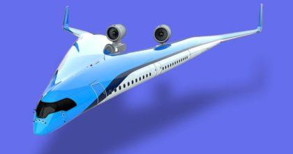Utastér a repülőgép szárnyában?