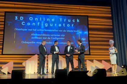 """A DAF Trucks elnyerte a tekintélyes """"Computable Award 2018"""" díjat"""