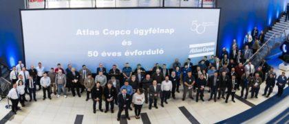 Atlas Copco ügyfélnap és 50 éves évforduló