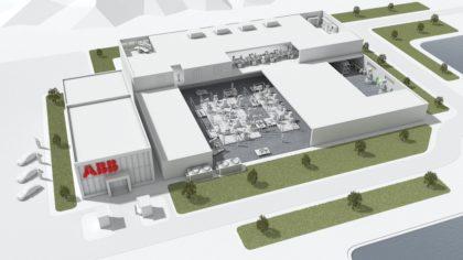 Az ABB a világ legkorszerűbb robotikai gyárát építi fel Sanghajban