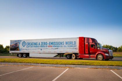 Innovatív elektromos és hidrogénnel működő üzemanyagcellás tehergépkocsikat mutatott be a PACCAR a CES 2019 kiállításon
