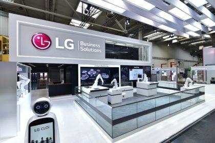 Intelligens ipari robotkarokat mutatott be az LG