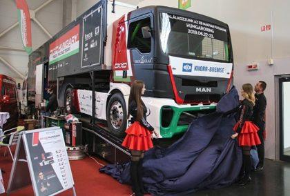 Magyar fejlesztésű az OXXO új versenykamionja