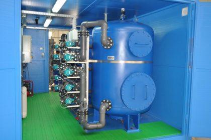 Konténeres vízkezelő rendszert fejlesztett ki a nagykanizsai Hidrofilt Kft.