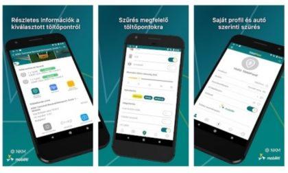 Megújult az NKM e-autótöltő applikációja