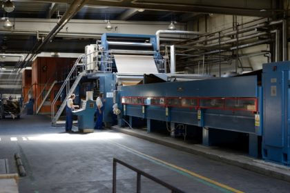 Robottechnológia a Rondo Hullámkartongyártónál
