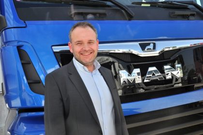Új ügyvezető az MAN Kamion és Busz Kereskedelmi Kft. élén