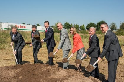 Ünnepélyes alapkőletétel: A Raben 6,5 millió euró értékű beruházást hajt végre eisenachi telephelyén, ezáltal 50 új munkahelyet teremtve