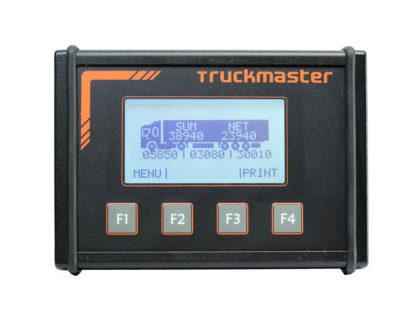 TruckMaster teherautó-mérleg: súlymérés a vezetőfülkéből