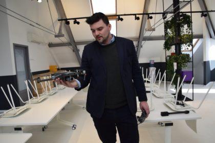 Drónokkal leltároznak!  Az Aeriu első export értékesítése (videóval)
