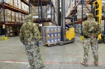 A WSZL logisztikai támogatást nyújt