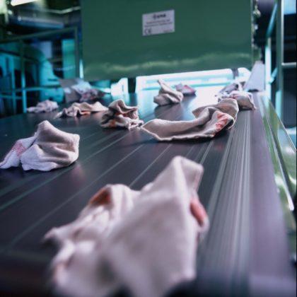 Higiénikusan tiszta törlőkendő
