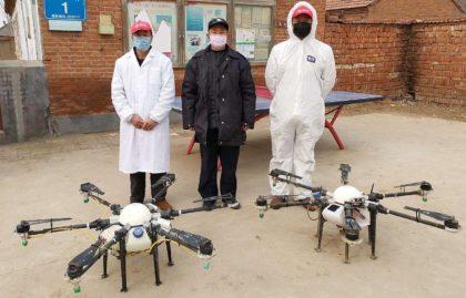 Drónok a koronavírus ellen