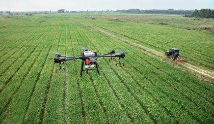 Távérzékelők feltöltése drónnal