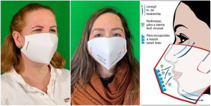 Eldobható papír szájmaszk egy magyar nyomdától