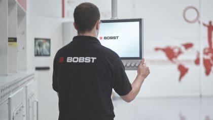 A BOBST segítette a csomagolóipart a rendkívüli helyzetben