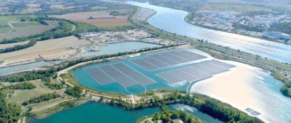 Kínában található bolygónk legnagyobb úszó napelemparkja