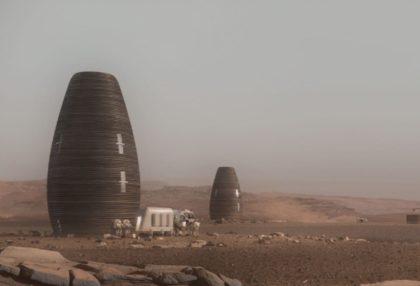 """Ház a Marson: 3D nyomtatású házat terveztek a """"vörös bolygóra"""""""