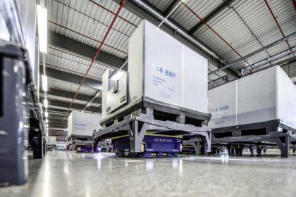 Az Audi az intelligens logisztikát választotta