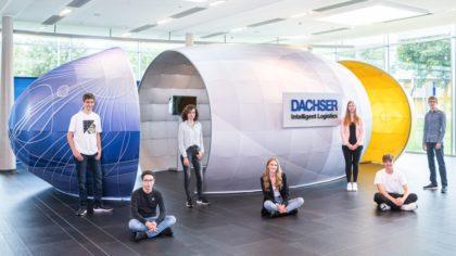 A Dachser is támogatta a logisztikai képzés indítását