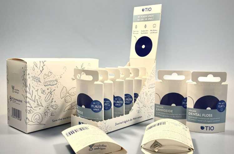 Fogselyem-csomagolás új design