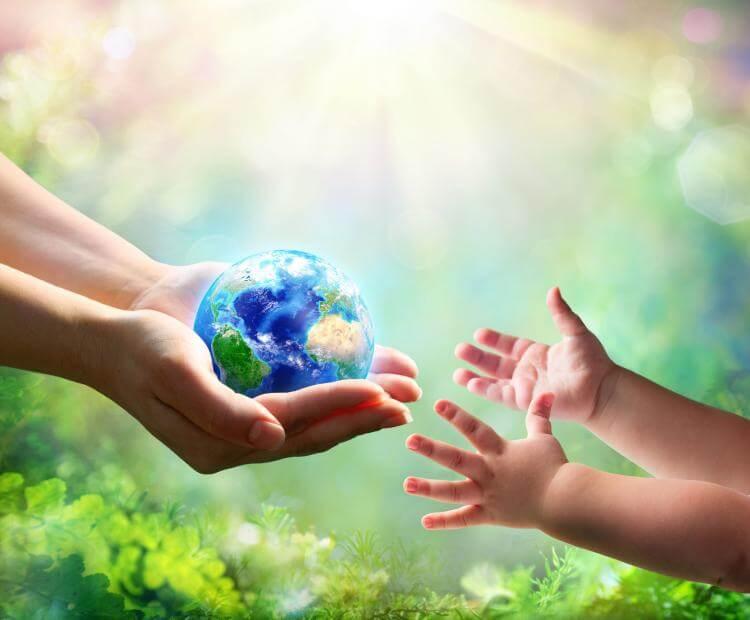 Föld jövője a kezünkben van
