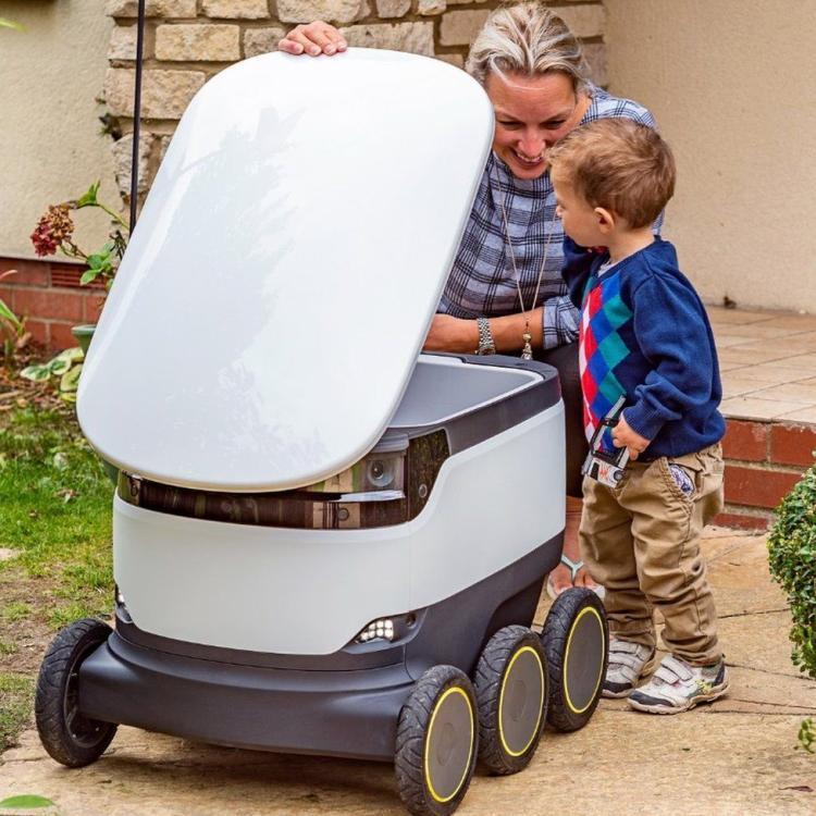 robot házhoz szállít