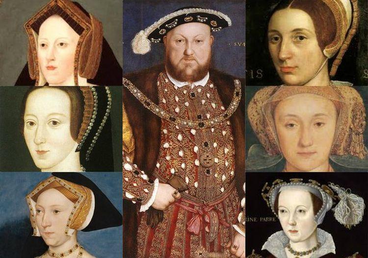 WIII. Henrik feleségei