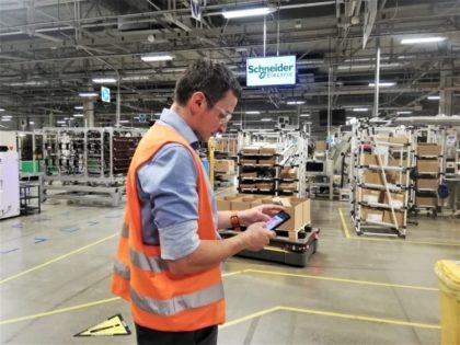 A logisztika is mind inkább a robotizálás irányába fordul