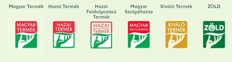 magyartermék logók