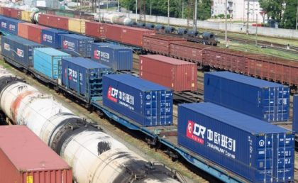 Tehervonat áruszállítási rekord dőlt meg