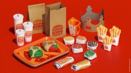 Visszatér a gyökerekhez a Burger King csomagolása
