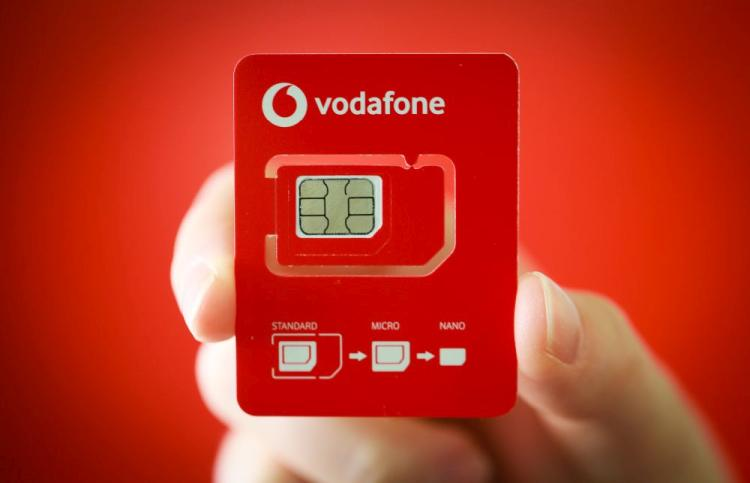 vodafone SIM-kártya
