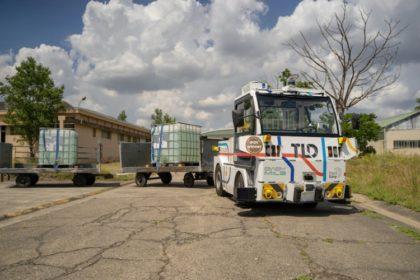 Önvezető vontatók a logisztikában