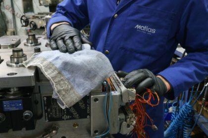Az ipar 4.0 munkáját is segítik a MEWA törlőkendői