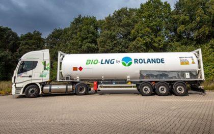 A Bio-LNG zöldítheti az áruszállítást