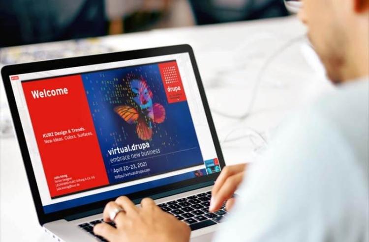 virtual drupa szakkiállítás